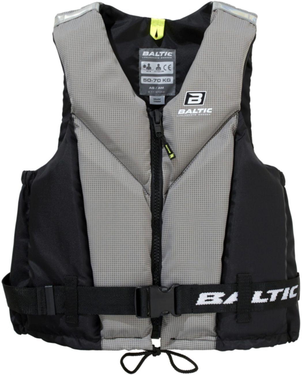 Baltic Trim Regatta Schwimmweste schwarz     grau - hohe Bewegungsfreiheit d68856