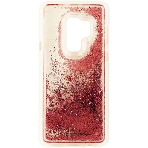 outlet store 7ab3f fe9cb Details about Case-Mate Waterfall Case for Samsung Galaxy S9+ (Plus) -  Clear/Pink Glitter