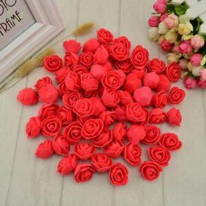 50-piezas-de-espuma-PE-Flor-falsa-cabeza-de-Rosas-Flores-Artificiales-Barato-Boda-Decoracion