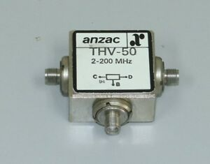 Image Is Loading Macom Anzac THV 50 Two Way Power Dividers