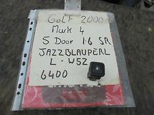 VOLKSWAGEN GOLF 1.6 SR 5 DOOR FUEL FLAP ELECTRIC RELEASE SWITCH MARK 4 2000