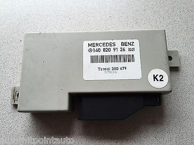 1994-1999 MERCEDES-BENZ S320 S420 S500 W140 ~ RADIATOR CORE SUPPORT UPPER PANEL