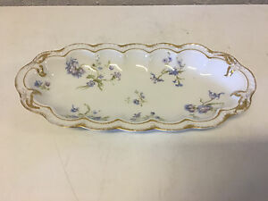 Antique Theodore Haviland Limoges Porcelain Vegetable / Celery Dish ...