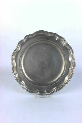 FleißIg Zinnteller Barocke Form Replikat Durchmesser 23,3 Cm