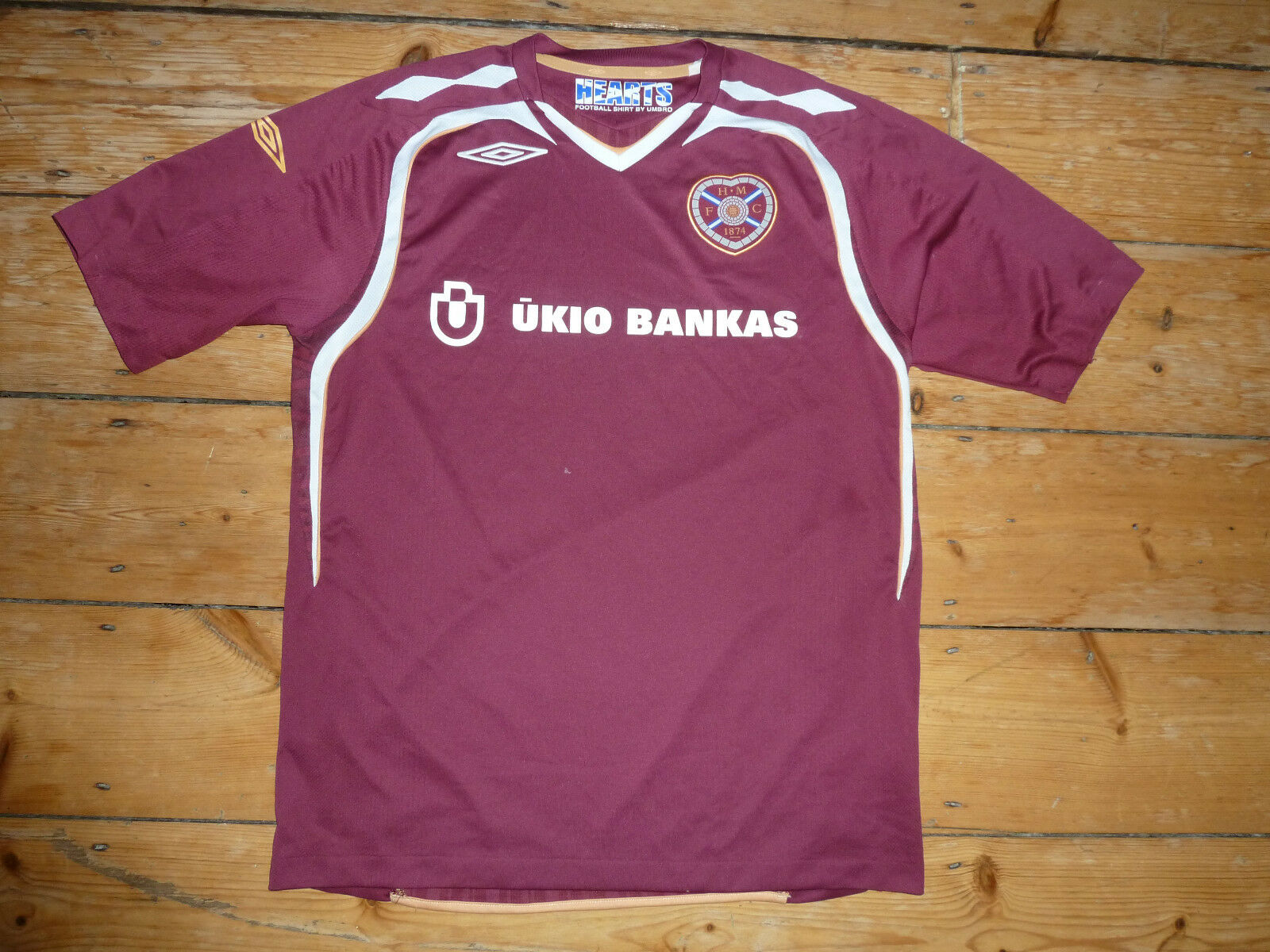 Grande Heart Of Midlothian Camiseta de Fútbol Jambos 2017-08