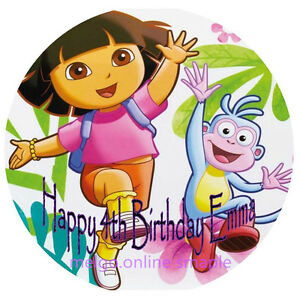 Edible-Dora-Explorer-Cake-Topper-Real-Icing-CakeTopper-Dora-Theme-Party