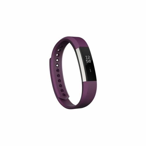 Fitbit Alta Fitness Tracker Silver//Plum US Version Large