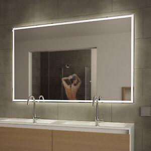 Das Bild Wird Geladen LED Badezimmerspiegel  BADSPIEGEL Wandspiegel Lichtspiegel Spiegel Ella WARMWEISS