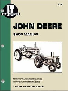Details about John Deere 70 sel 1953 1954 1955 1956 Tractor Repair on