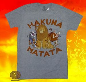 247f702f Image is loading New-Disney-Lion-King-Hakuna-Matata-Cast-Mens-