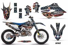 AMR Racing MX Husqvarna TC 125/250 FC 250-450 Graphic Kit Bike Decal 14-15 WW2