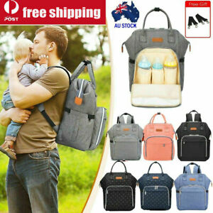 Luxury-Multi-functional-Baby-Diaper-Nappy-Backpack-Waterproof-Mummy-Bag