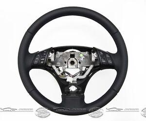 Coche-Volante-de-Cuero-Sport-Autentica-Piel-Nuevo-Convexo-para-Mazda-Rx8-Compra
