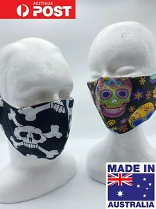 FABRIC-FACE-MASK-Washable-with-Pocket-for-Filter-Adult-size-funky-prints
