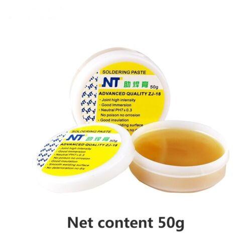 Soldering Paste High Intensity Free Rosin Solder Flux Yellow Pastes 50//80//150g