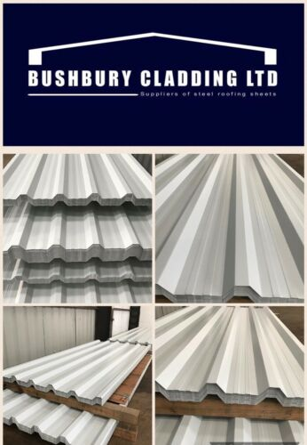 CHEAP METAL ROOF AND WALL SHEETING LIGHT GREY FINISH