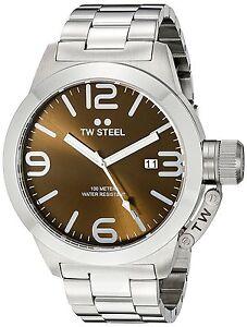 TW-STEEL-CB21-BROWN-45MM-CANTEEN-WATCH-2-YEARS-WARRANTY