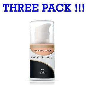 Three-Pack-Max-Factor-Colour-Adapt-Foundation-Golden-075