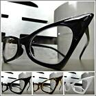 CLASSIC VINTAGE RETRO CAT EYE Style Clear Lens EYE GLASSES Small Fashion Frame