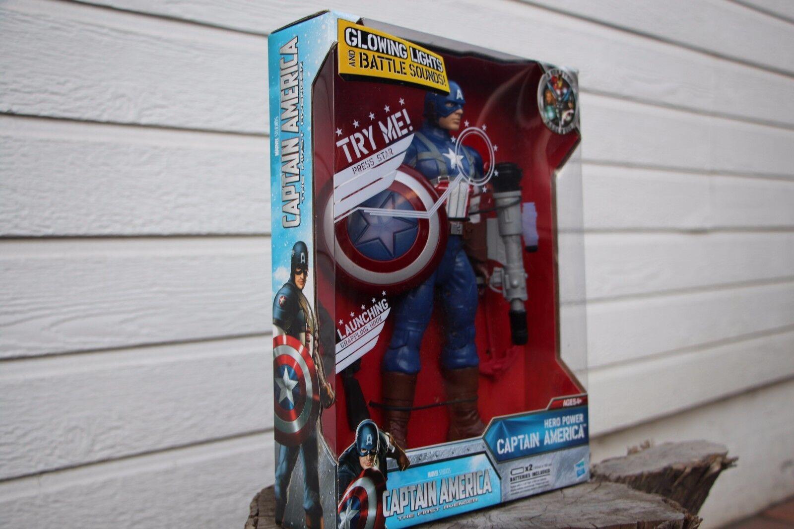 Capitán América  héroe Power Capt. América