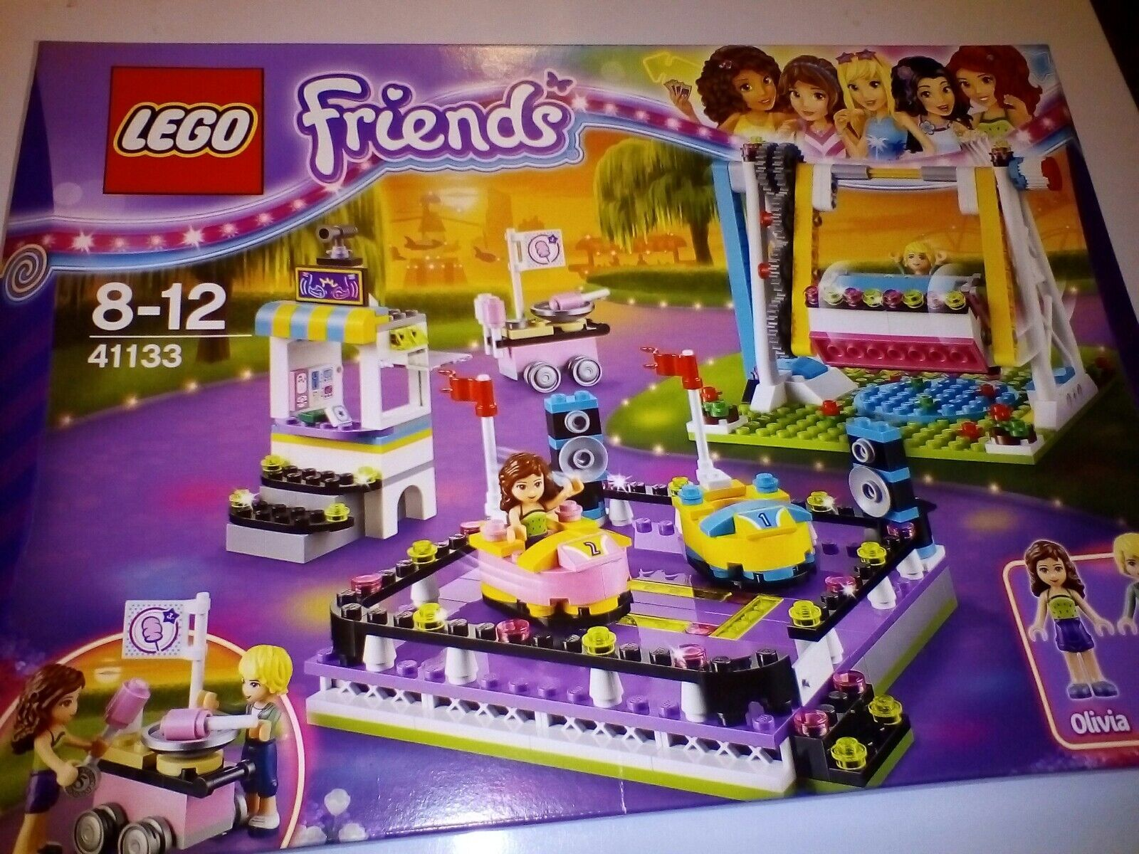 LEGO Friends 41133 parco divertimenti BUMPER Cars