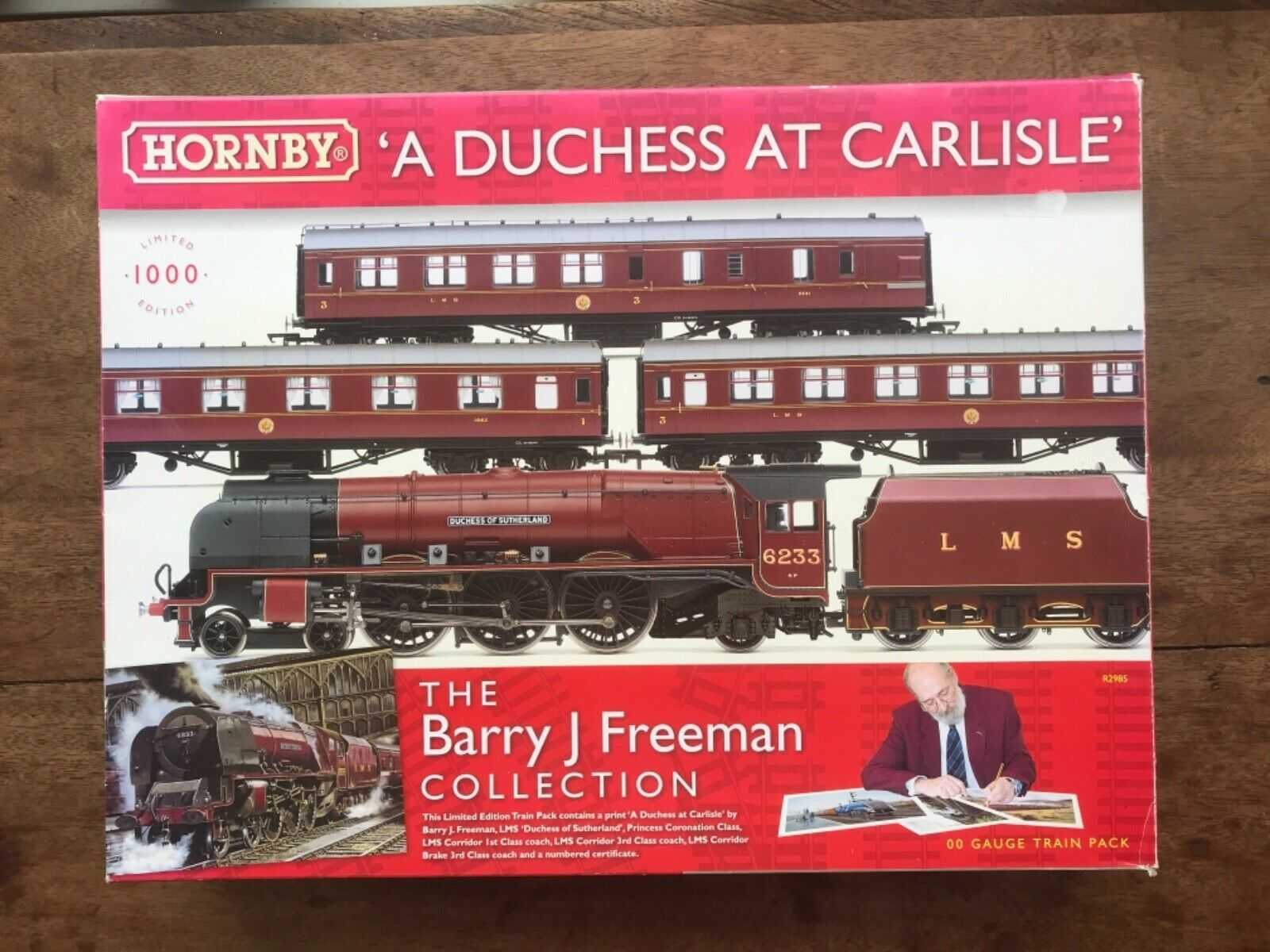 HORNBY 'A DUCHESS AT CARLISLE' R2985THE BARRY FREEMAN COLLECTION DCC READY