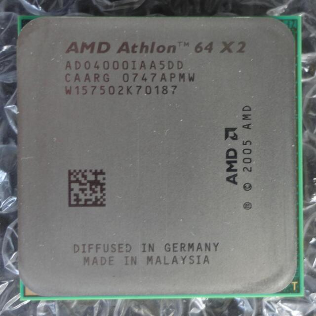amd athlon 64 x2 4000 ad04000iaa5dd 2 1ghz dual core socket am2 cpu