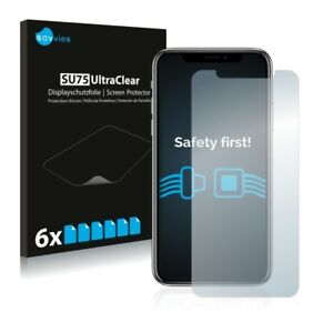 Apple-iPhone-X-6-x-Transparent-ULTRA-Clear-Screen-Protector