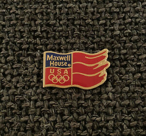 PIN'S - MAXWELL HOUSE - USA - OLYMPIC GAMES - JEUX OLYMPIQUES