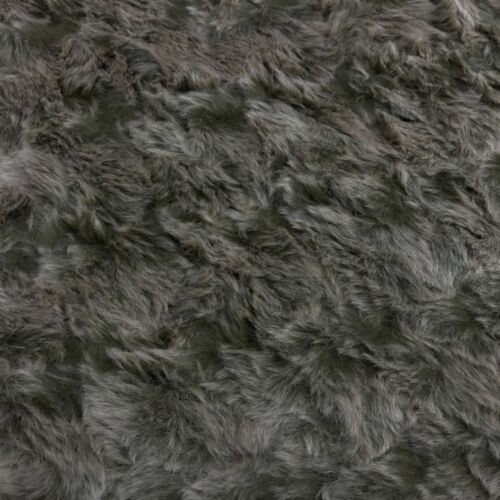 "Premium Quality Acrylic Super Soft Fur Fabric Material 60/"" Wide Long//Short Pile"