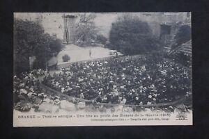 Postcard-Antique-Orange-Theatre-Antique-A-Feast-To-Profit-Of-Injured