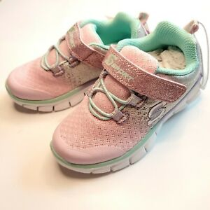 SKECHERS-S-Sport-Size-7-Toddler-Girls-Pink-Purple-Pastel-Bethanie-Shoes-Sneakers