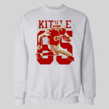 GEORGE KITTLE SPLASH ART CUSTOM FOOTBALL SWEATER *MANY SIZES*
