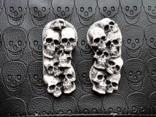 Tour Deluxe// V-Star Front Caliper covers skull pile Yamaha Royal Star Venture