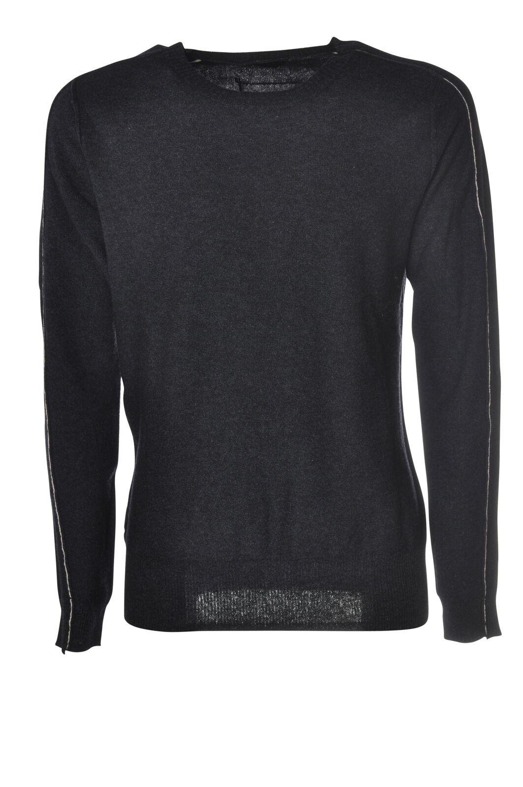 Hosio - Knitwear-Sweaters - Man - bluee - 5584110C190530