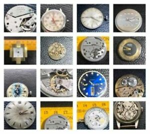 Antique Vintage swiss Automatic Watch movement For parts ,Replacement Varieties