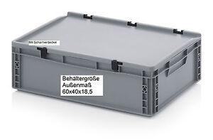 Kunststoff-Umzugsbehaelter-mit-Scharnier-Deckel-60x40x18-5-Kiste-zur-Aufbewahrung