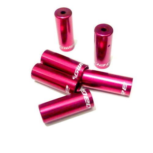 gobike88 Jagwire Ferrule Open End Caps F09W 6 pieces Red 5mm