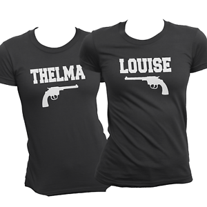 4dcf8568 Image is loading ORIGINAL-Thelma-and-Louise-Matching-Shirts-Pistols-Best-