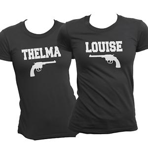 ORIGINALE Thelma Louise corrispondenti camicie and Pistols migliori amici Tees 2019 Estate