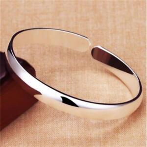 Offener-Mund-Armband-polnischen-Silber-Armreif-Schmuck-einstellbar-mode