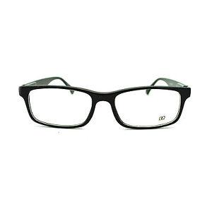 Glasses Narrow Frame : All Black Classic Small Narrow Rectangular Plastic Frame ...