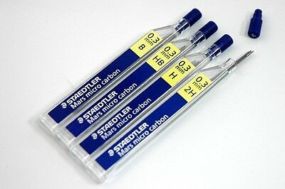 Buy 2 get 10/% 12 Staedtler Mars Micro 0.3mm H Mechanical Pencil Refill Leads