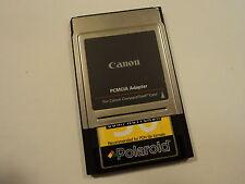 Canon Polaroid PC Card PCMCIA ATA Adaptor PDN File Formats