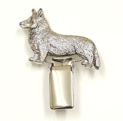 Corgi (Cardigan) Dog Show Ring Clip/ Ring Number Holder