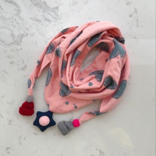 Popular Baby Kids Cartoon Scarves Autumn Winter Warm Triangle Saliva Towel Scarf