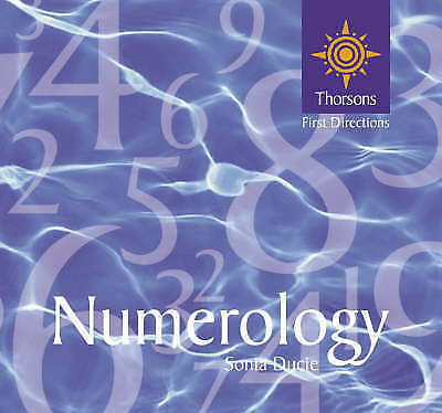 """""""AS NEW"""" Ducie, Sonia, Thorsons First Directions – Numerology (Thorsons directio"""