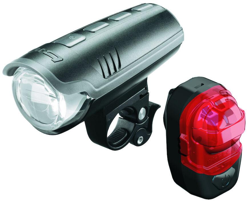 Busch&Müller Batterie-Beleuchtungsset IXON Pure + IX-Post