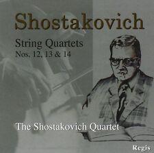 CD SHOSTAKOVICH STRING QUARTETS 12 13 14