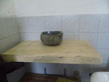 Baumscheibe, Eichenbohle, Waschtischplatte, ca. 100x50x7 cm, Eiche, geschliffen